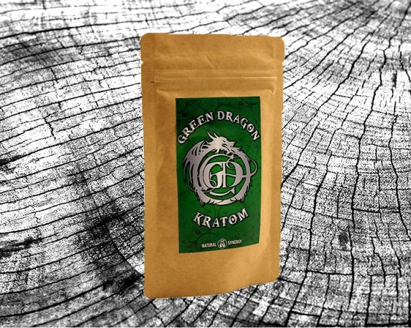 Green Dragon Kratom por
