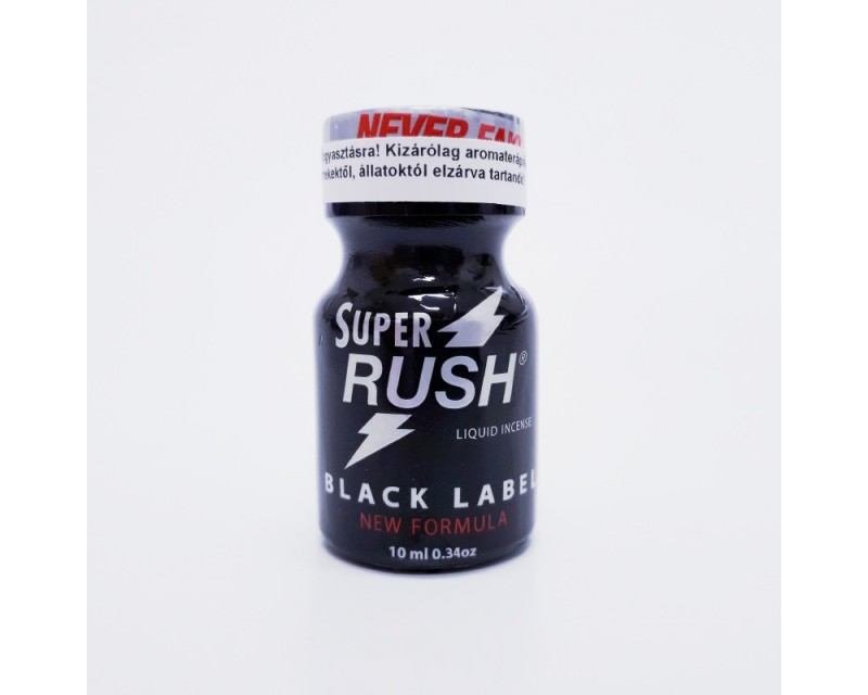 Super Rush Black Label Aroma Poppers 9 ml